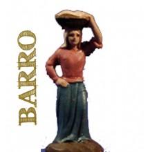 Figuras de barro 28 cm