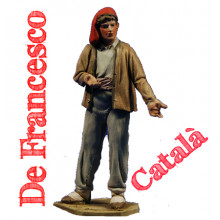 Figuras barro De Francesco estilo catalán 5 cm