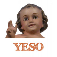 Niños Jesús de yeso.