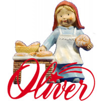 Figuras resina naïf Oliver