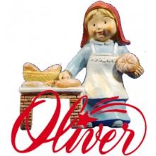 Figuras resina naïf Oliver 8 cm