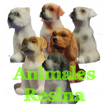 Animales Granja<br>grandes resina