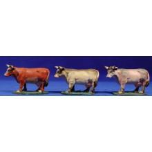 Vaca 11 cm barro pintado