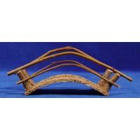 Puente curvados 11 cm madera