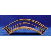 Puente curvados 16 cm madera