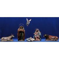 Nacimiento 12 cm ropa y barro Figuralia