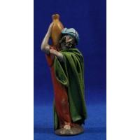 Pastor con jarra 12 cm ropa y barro Figuralia