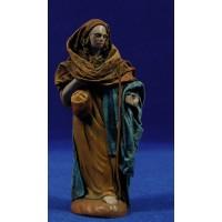 Pastor 12 cm ropa y barro Figuralia