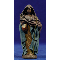 Pastor con bolsa 12 cm ropa y barro Figuralia