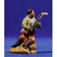 Pescador 5 cm barro Figuralia