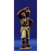 Pastor con jarra 16 cm barro pintado Figuralia