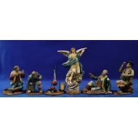 Anunciata 16 cm barro pintado Figuralia