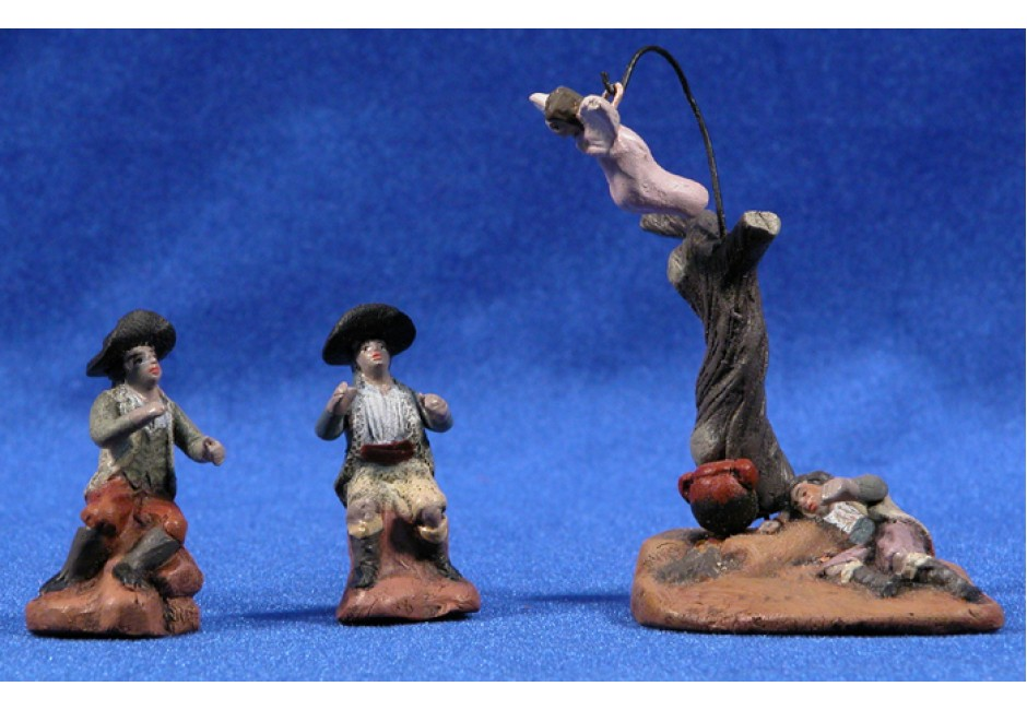 Figura Santa Cesta de Pan de Madera de Olivo Baguette 33-36 cm /¡Calidad Original Dise/ñado Especialmente para Baguette