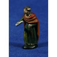 Herodes 5 cm barro pintado Figuralia