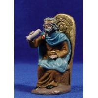Herodes sentado 10 cm barro pintado Figuralia