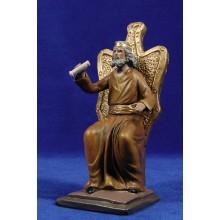 Herodes sentado 17 cm barro pintado Figuralia