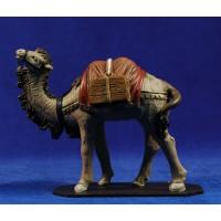 camello de pie 12 cm barro pintado Figuralia