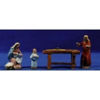 Taller de Natzaret 7 cm barro pintado Figuralia