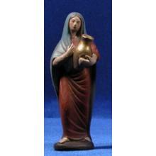 Pastora con jarra 12 cm barro pintado Figuralia
