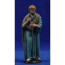 Pastor 12 cm barro pintado Figuralia
