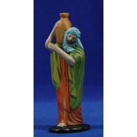 Pastor con jarra 12 cm barro pintado Figuralia