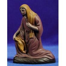 Pastora adorando 12 cm barro pintado Figuralia