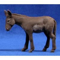 Mula de pie 12 cm barro pintado Delgado
