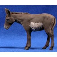 Mula de pie 15 cm barro pintado Delgado