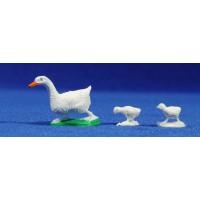 Pato 8 cm plástico Fabregat
