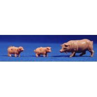 Cerdo 8 cm plástico Fabregat
