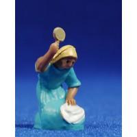 Pastora lavandera 4 cm plástico Fabregat