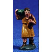 Pastor con calabaza 4 cm plástico Fabregat