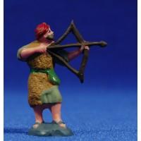 Pastor cazador 4 cm plástico Fabregat