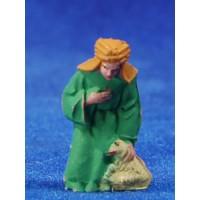 Pastor adorando 4 cm plástico Fabregat