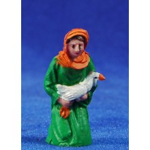 Pastora adorando 6 cm plástico Fabregat