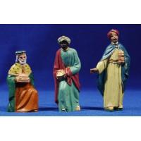 Reyes adorando 10 cm plástico Fabregat