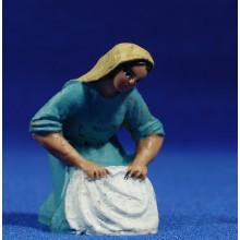 Pastora lavandera 10 cm plástico Fabregat