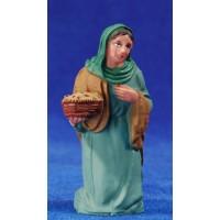 Pastora adorando 10 cm plástico Fabregat