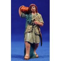 Pastor con calabaza 10 cm plástico Fabregat