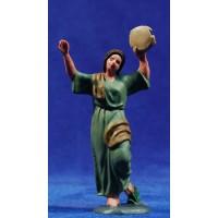 Pastora bailando 10 cm plástico Fabregat