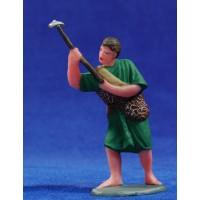 Pastor labrando 10 cm plástico Fabregat