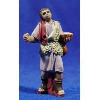 Pastor con cesto 10 cm plástico Fabregat