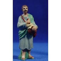 Pastor con zambomba 10 cm plástico Fabregat