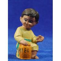 Pastor adorando 8 cm plástico Fabregat