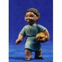 Pastor con pan 8 cm plástico Fabregat