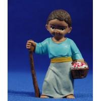 Pastor con cesta 8 cm plástico Fabregat