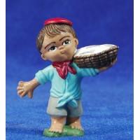Pastor pescatero 5 cm plástico Fabregat