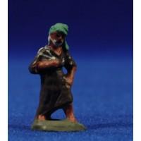 Pastor con saco 3 cm barro pintado Fabregat
