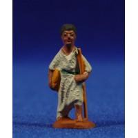 Pastor de camino 3 cm barro pintado Fabregat