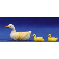 Pato nadando 8 cm plástico Fabregat